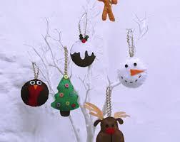 Diy Christmas Reindeer Decorations by Christmas Tree Kit Etsy