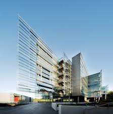 business and teaching complex fjmt archimedia archdaily