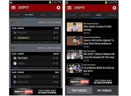 espn brings new interface to scorecenter for android and ios - Espn App For Android