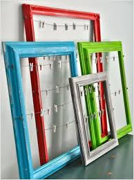Using Old Window Frames To Decorate 10 Creative Ways To Decorate With Dollar Store Picture Frames 1
