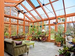 greenhouse sunroom home design ceiling fan in inspiring traditional porch design