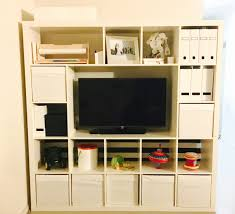 Ikea Spice Rack Hack Diy by Ikea Hack 5 X 5 Expedit Kallax Shelves Minus A Few Pieces Home