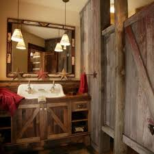 Rustic Cabin Bathroom - rustic bathroom designs44 rustic barn bathroom design ideas