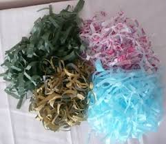 where to shred papers shredded tissue paper how to make your own gift basket filler