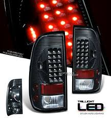 2002 ford f150 tail lights ford f150 1997 2003 black led tail lights a101h93t109