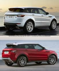 jeep land rover 2015 2016 range rover evoque facelift vs 2015 evoque old vs new