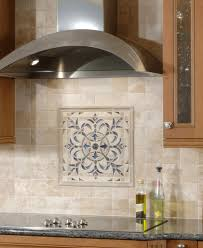 kitchen backsplash medallions kitchen design
