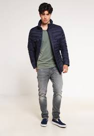 motorcycle clothing online schott nyc men jackets shaft down jacket navy schott