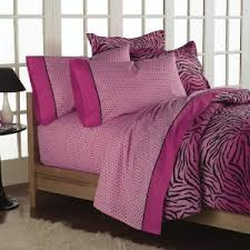 Zebra Print Bedroom Sets Interesting Pink Zebra Print Comforter Sets Fabulous Inspiration