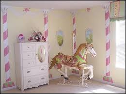 carousel horse for girls room carousel thme bedroom girls