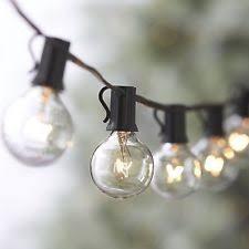 Edison Bulb String Lights Mercantile Design 100ft G40 String Lights 5 Spare Bulbs 105 Edison