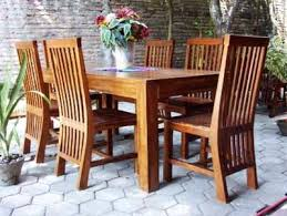 Teak Dining Tables And Chairs Teak Wood Contemporary Dining Set Tdt 2501 Timbercraft