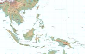 Asia Map Countries Map Of Southeast Asia Countries Beautiful East And Southeast Asia