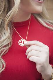 my monogram necklace i want this for my birthday monogram necklace on etsy silver