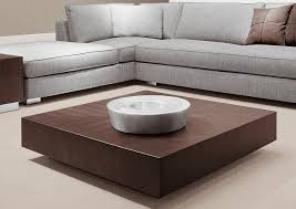 Living Room Tables Wood Contemporary Coffee Table Wooden Steel Square Life By