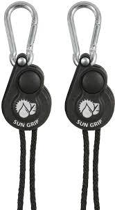 sun grip push button light hanger 1 8 in 1 pair