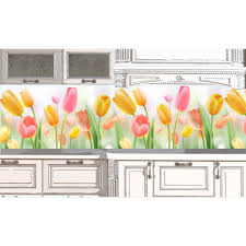 kitchen backsplash tulips 50 desing ideas for kitchen decor