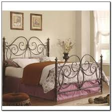 Headboard And Footboard Frame Metal Bed Frame Headboard Footboard Trends And