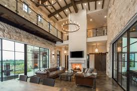 contemporary italian farmhouse in texas with a rustic style and