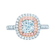 Tiffany And Co Wedding Rings by Love The Colors Pink Diamond Ring Tiffany Bling Such Lovely