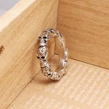 vintage sterling rings images Vintage skull 925 sterling silver ring callvogue jpg