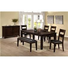 Fairview Dining Room by Emerald Fairview Transitional Seven Piece Dining Set With