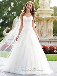 a line wedding dress 25 best sweetheart wedding dress ideas on wedding