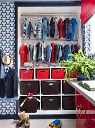 Closet Storage Bins by Photos Hgtv Contemporary Boys Bedroom With Open Organized Closet