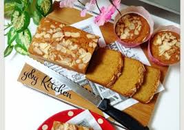 cara membuat kue bolu jadul ontbijtkoek bolu jadul bumbu spekuk