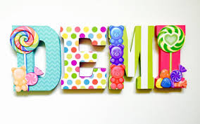 themed letters candy shop themed letters candy candyland party
