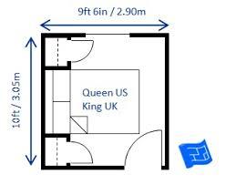 bedroom sizes in metres bedroom size