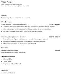 Reverse Chronological Resume Template Word Cover Letter Resume Templater Resume Templates For Microsoft Word