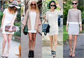 how and what to wear a shift mini dress 2013 trend gorgeautiful com