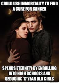 Funny Twilight Memes - scumbag edward cullen meme weknowmemes
