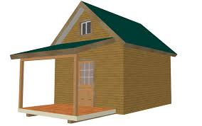 saltbox cabin plans 226 12 u2032 x 14 u2032 x 8 u2032 bunk cabin plan free house plan reviews