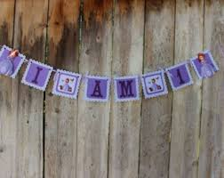 Sofia The First Chair Sofia Banner Etsy
