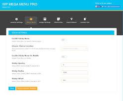 wp mega menu pro responsive mega menu plugin for wordpress by