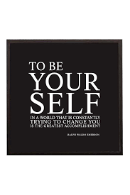 leadership quotes ralph waldo emerson to be yourself in a world that is trying to change you is the