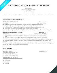 resume format exles for teachers education resume format
