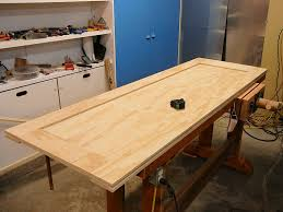 Solid Core Door Desk How To Make A Plywood Door Page 1