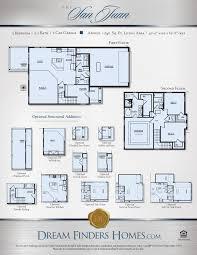 Eagle Homes Floor Plans by San Juan Dream Finders Homes