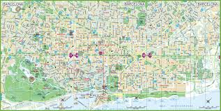 Cordoba Spain Map by Barcelona Maps Spain Maps Of Barcelona City