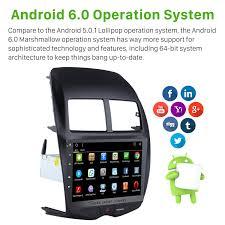 inch android 6 0 2010 2013 mitsubishi asx radio gps navigation