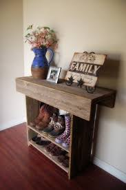 Diy Entry Table by Console Table Wood Entry Way Or Wall Table 36 X 12 X 30 Wall