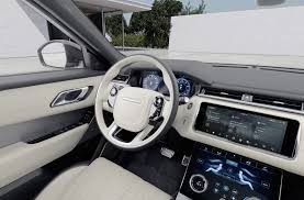 new land rover velar car virtual reality range rover velar interior 360 photography