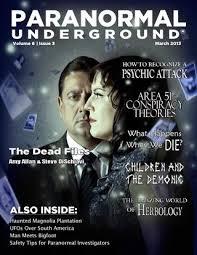 march 2013 paranormal underground by paranormal underground