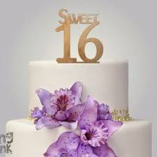 16 cake topper sweet sixteen cake topper bling from simplycreative2 on etsy