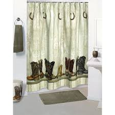 Western Style Shower Curtains Shower Curtains Products Shower Curtains Saddle Up