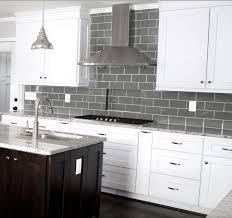 glass mosaic kitchen backsplash gray glass tile contemporary subway tiles 995sf 3 x 6 inch