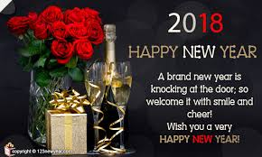 newyear cards welcome new year with smile new year greeting cards 2017